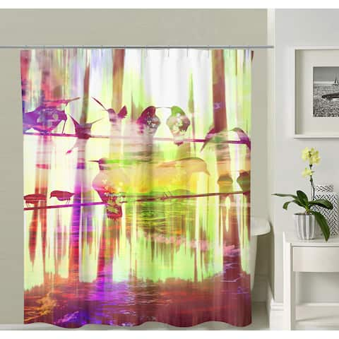 Oyo Concept Birds Shower Curtain