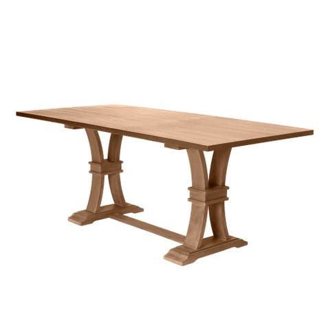 Best Quality Furniture Counter Height Dining Table w/ Leaf - Table Only