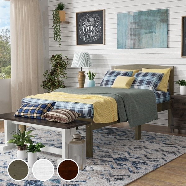 Taylor & Olive Amaryllis Twin Platform Bed