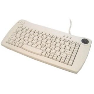 Solidtek Mini 88 Keys Keyboard w/Trackball Mouse KB-5010BU
