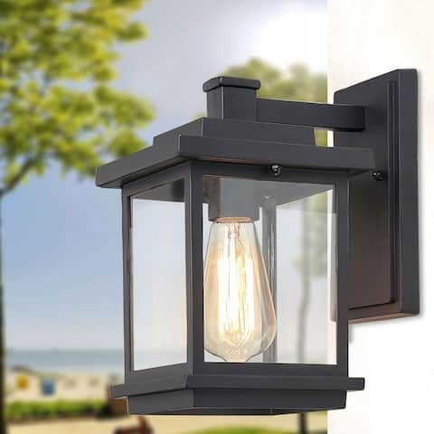 Hawke's Bay Wall Sconce 1-light Outdoor Porch Light by Havenside Home