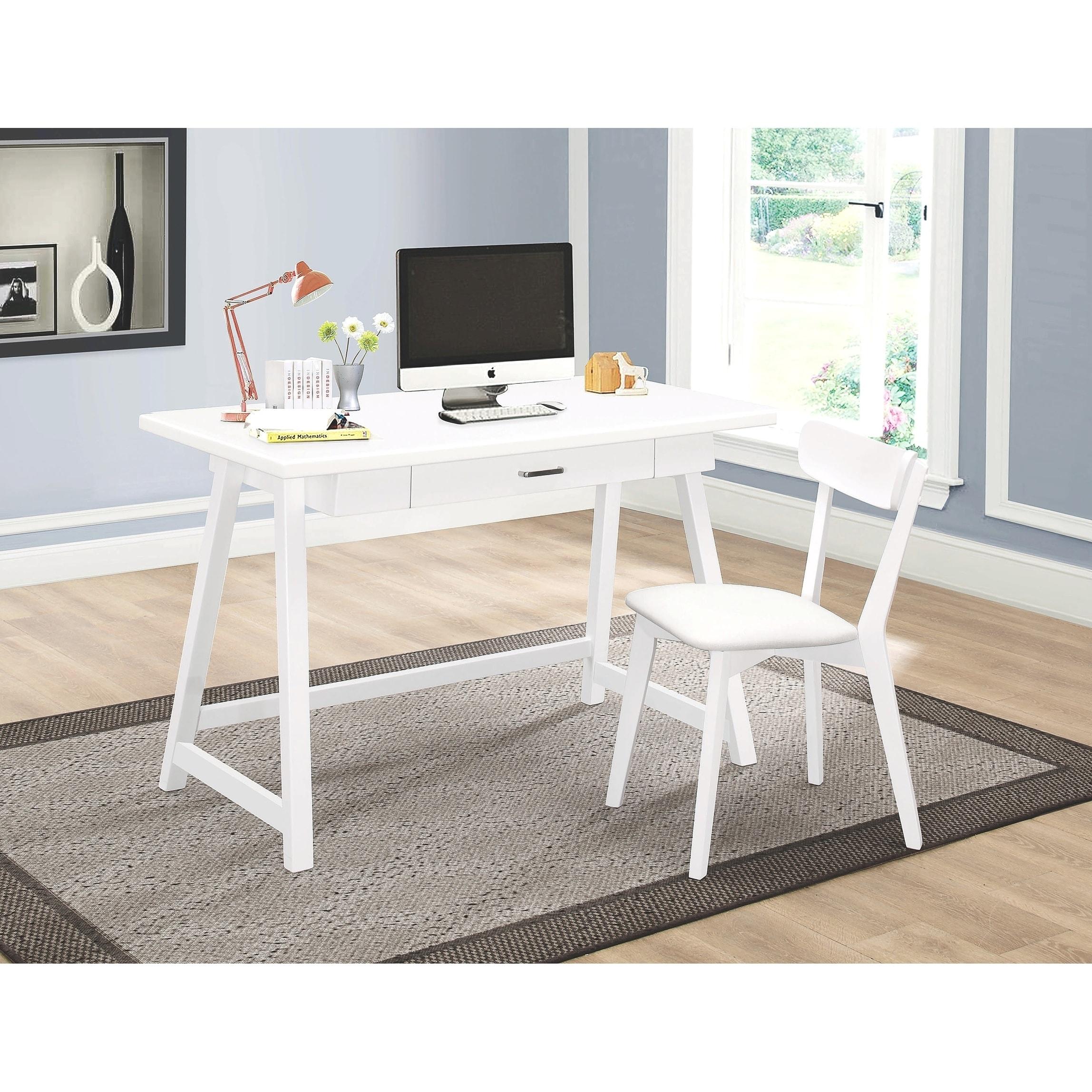 Mid Century Modern Design White