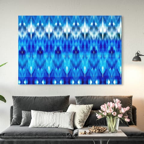 Oliver Gal 'This Blue is So You' Abstract Wall Art Canvas Print - Blue, White