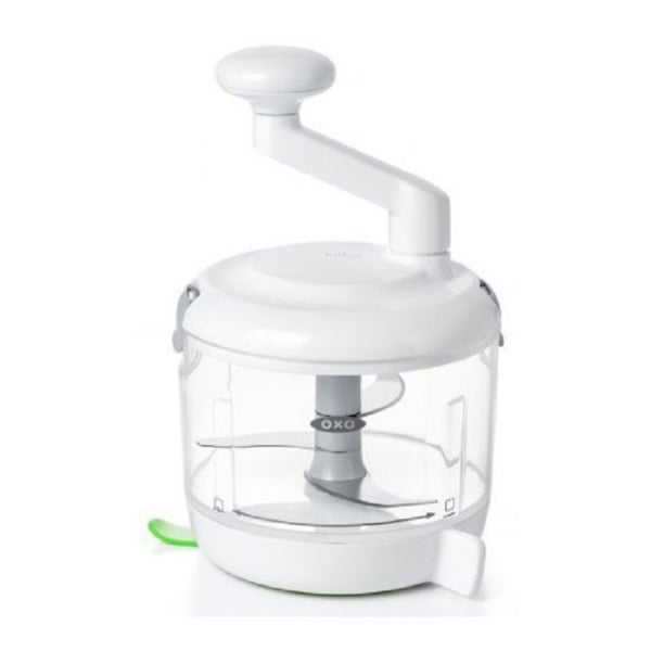 OXO Good Grips One Stop Chop Manual Food Processor (4-Cup Capacity)