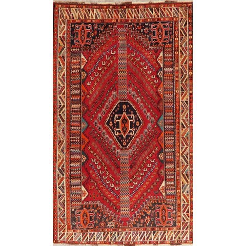 """Lori Oriental Hand Knotted Persian Wool Vintage Area Rug - 8'5"""" x 5'1"""""""