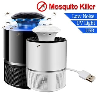 Mosquito Killer Light Ultraviolet Non-Radiation Mosquito Catcher Electric Bug Zapper Fly Killer Insect Bug Trap Lamp