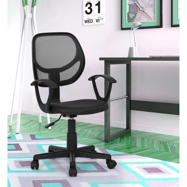 Porch & Den Dingo Home Office Mid-back Swivel Task Chair