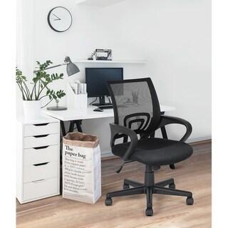 Porch & Den Dingheiser Mesh Ergonomic Home Office Task Chair
