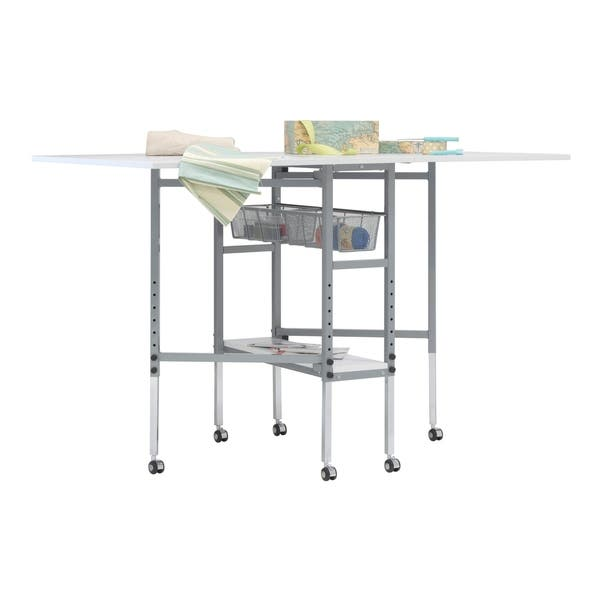Shop Sew Ready Mobile Folding Height Adjustable Quilting