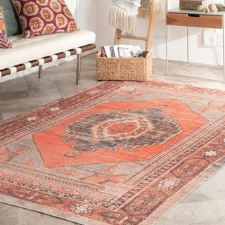 nuLOOM Southwestern Transitional Mcculloch Flatweave Area Rug