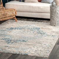 nuLOOM Transitional Vintage Medallion Shaffer Area Rug