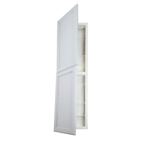 Prime Shop Deville Recessed In The Wall 2 Door Pantry Style Home Interior And Landscaping Fragforummapetitesourisinfo