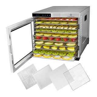 Link to ChefWave Secco Pro Food Dehydrator with 10 Drying Racks (Stainless Steel) Similar Items in Specialty Appliances