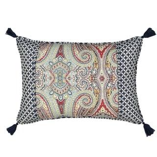Waverly Paisley Pizzazz 14x20 Pieced Decorative Pillow