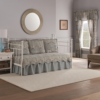 Waverly Paisley Pizzazz Daybed 5pc Quilt Set - 105 x 54