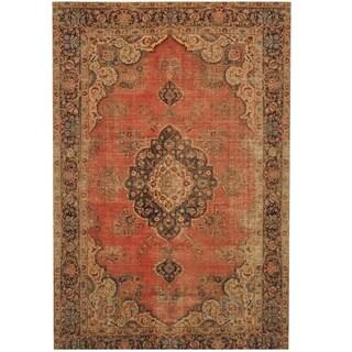 Handmade Tabriz Wool Rug (Iran) - 7'2 x 11'