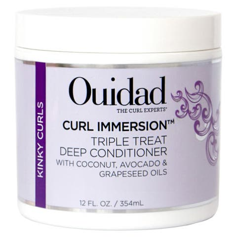 Ouidad Curl Immersion Triple Treat Deep Conditioner 12-ounce