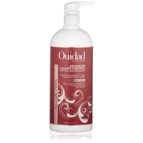 Ouidad Advanced Climate Control Heat & Humidity Stronger Hold Gel 33.8-ounce