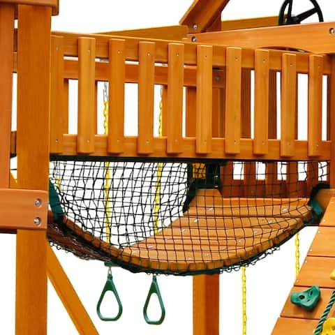 "Gorilla Playsets Clatter Bridge Mesh Panels - Safety Net for Swing Sets - 66"" W x 0.125"" D x 24"" H"