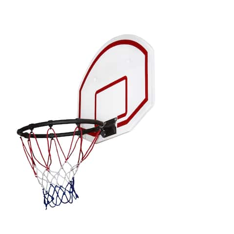 """Gorilla Playsets Basketball Hoop with Ball, Pen, and Pump for Swing Sets - 23.75"""" W x 15"""" D x 16"""" H"""