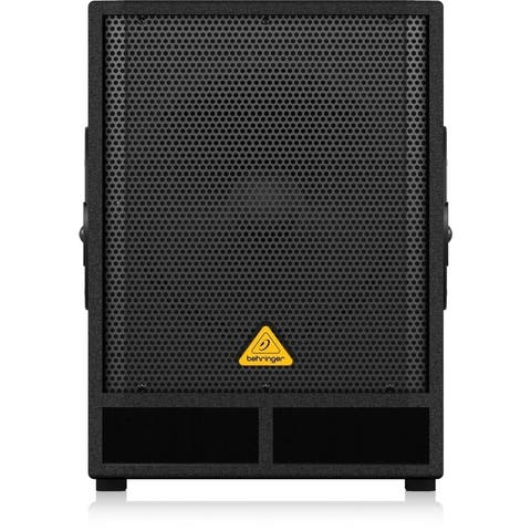 "Behringer EUROLIVE VQ1500D Professional Active 500-Watt 15"" PA Subwoofer with Built-In Stereo Crossover"