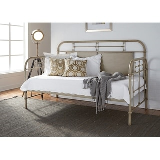 Vintage Series Green Twin Metal Day Bed