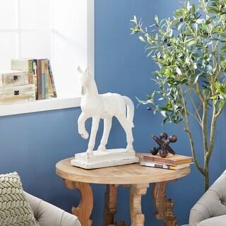 "Studio 350 Distressed Horse Sculpture Shelf Décor, 14"" x 20"""