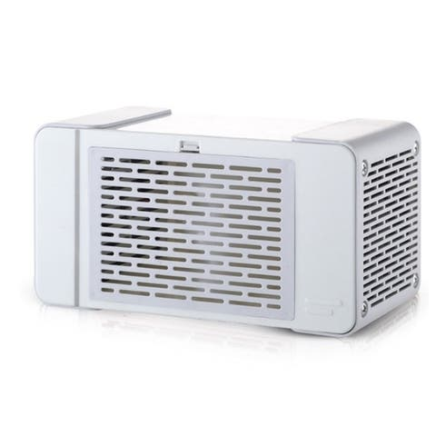 USB Evaporative Air Mini Portable Desktop Air Conditioner Mini Cooling Fan Refrigerator with USB Light for Bedroom Office