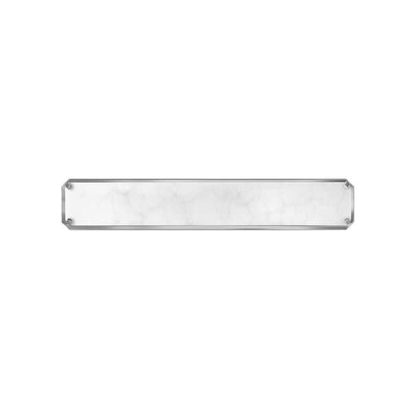 Hinkley Serene LED Vanity in Polished Nickel. Opens flyout.