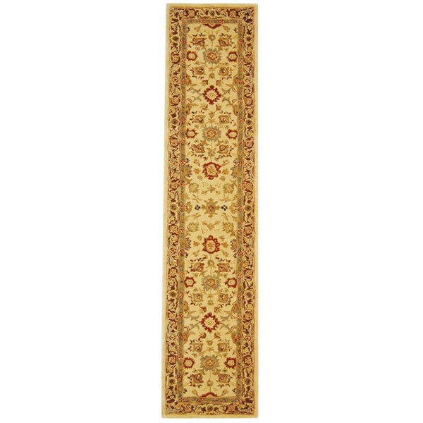 Safavieh Handmade Heirloom Ivory Wool Runner (2'3 x 12')