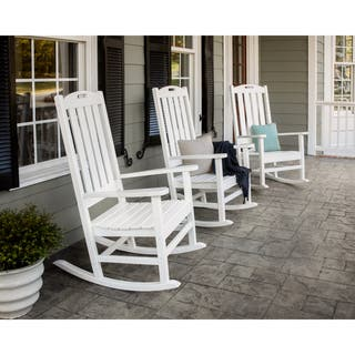 POLYWOOD® Nautical Porch Rocking Chair