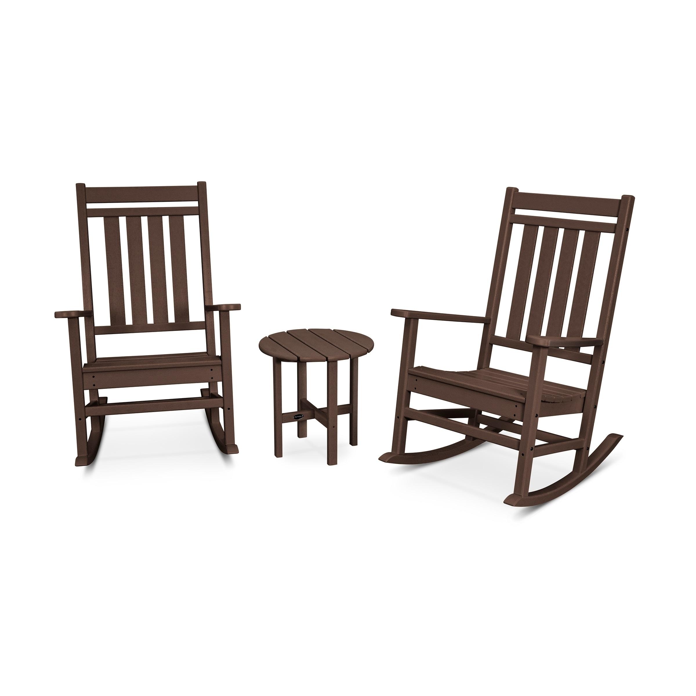 Plantation 3 Piece Porch Rocking Chair