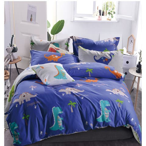 Porch & Den Hank Dino Cotton 2-piece Twin/Twin XL Comforter Set