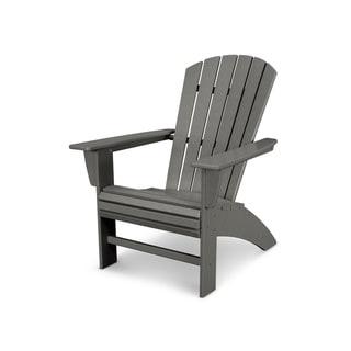 POLYWOOD® Nautical Curveback Adirondack Chair