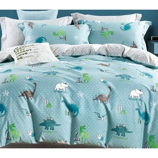 Link to Porch & Den Bendham Dino Cotton 2-piece Twin/Twin XL Comforter Set Similar Items in Kids Comforter Sets