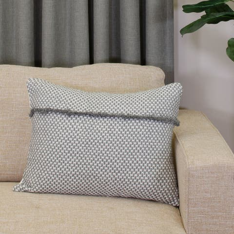 Porch & Den Tarleton Check Pattern 16-inch x 20-inch Decorative Pillow