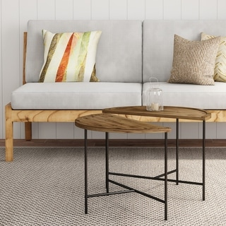 Link to Carbon Loft Kreais Half Moon Coffee Tables (Set of 2) Similar Items in Living Room Furniture