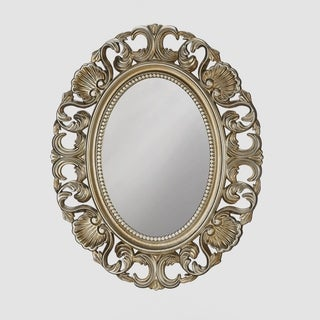 Link to Vintage Style Gold Oval Wall Mirror Similar Items in Mirrors