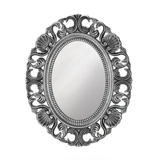 Link to Vintage Style Silver Oval Wall Mirror Similar Items in Mirrors
