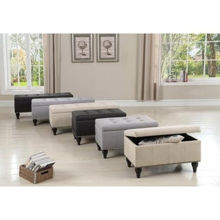 Rosevera Darrah Upholstered Storage Bench