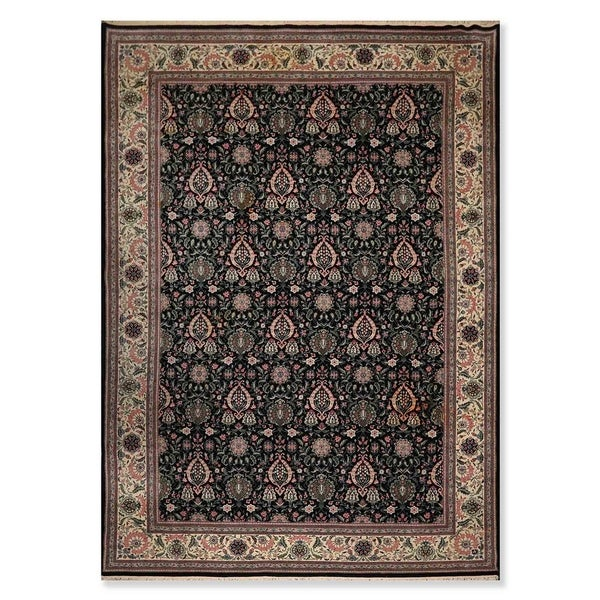 """Hand Knotted Wool Persian Oriental Area Rug Traditional 301 KPSI Pak Persian (9'9""""x13'9"""") - 9'9"""" x 13'9"""""""