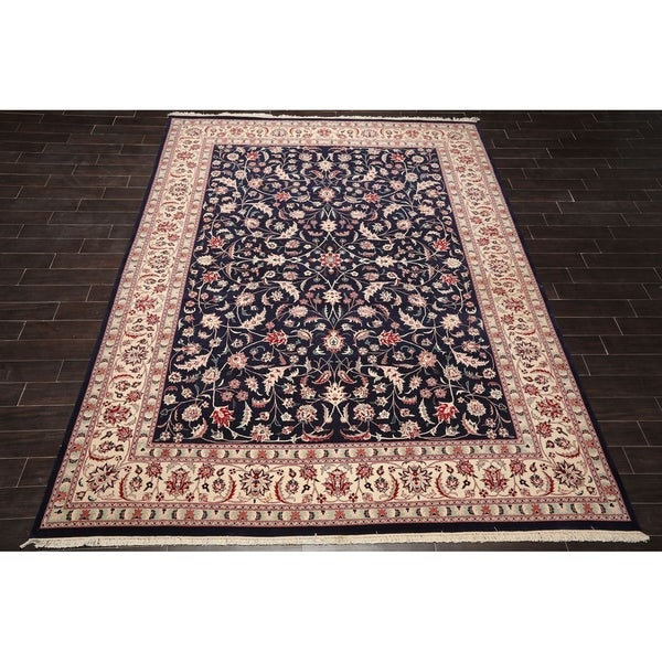 """Hand Knotted Wool Persian Oriental Area Rug (9'1""""x12') - 9'1"""" x 12'"""