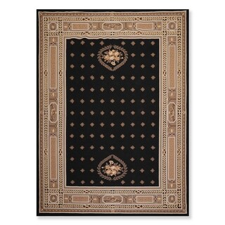 """Oriental Area Rug Hand Hooked 100% Wool Traditional Classic  (8'4""""x11'4"""") - 8'4"""" x 11'4"""""""