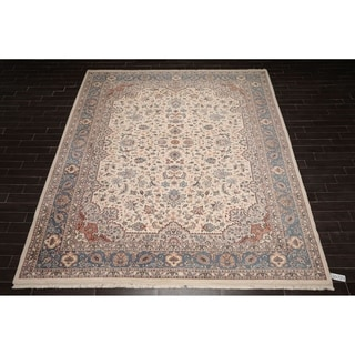 "Hand Knotted Wool Persian Oriental Area Rug Traditional  (10'2""x14') - 10'2"" x 14'"