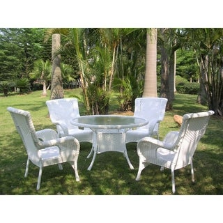 International Caravan Five-Piece Outdoor Patio Set