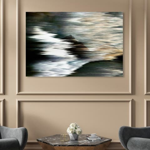 Oliver Gal 'Violone' Abstract Wall Art Canvas Print - Black, Brown