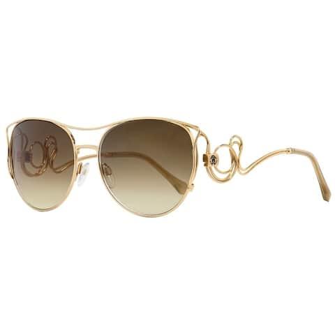 Roberto Cavalli RC1026 Carmignano 28G Womens Gold 61 mm Sunglasses