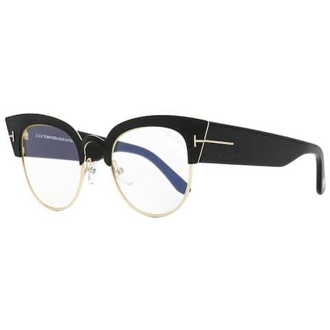Tom Ford TF607 Alexandra-02 005 Womens Black/Gold 51 mm Sunglasses