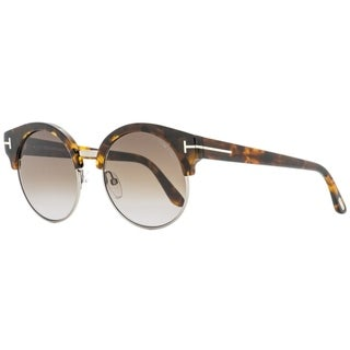 Link to Tom Ford TF608 Alissa-02 55Z Womens Vintage Havana  54 mm Sunglasses - Vintage Havana - Vintage Havana Similar Items in Women's Sunglasses