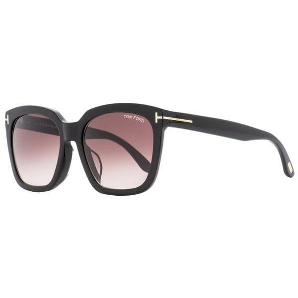 129fe1f9cce3d Shop Tom Ford TF502F Amarra 01T Womens Black 55 mm Sunglasses - Free  Shipping Today - Overstock - 28596217
